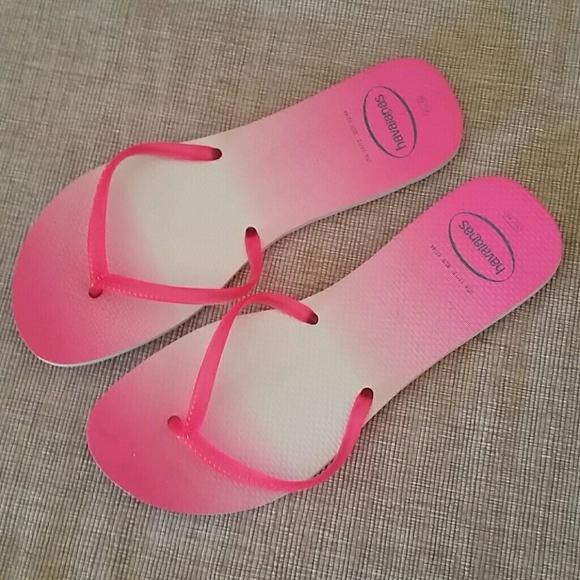ef3f5ba986045 Havaianas Shoes - New havaianas ombre flip flops